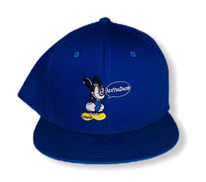 Royal Blue Mickey Mouse Snapback