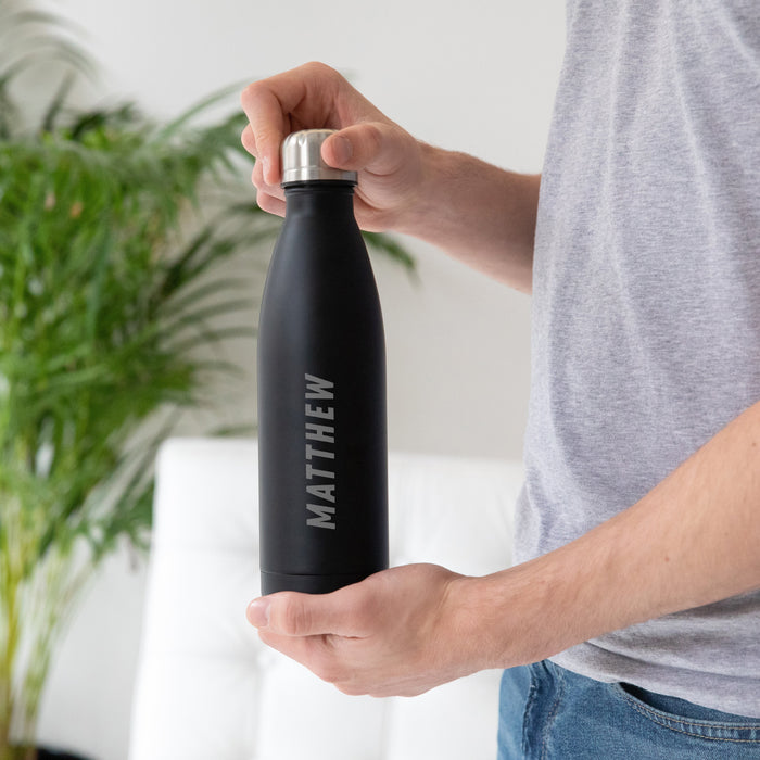 Personalised Water Bottle for Gents