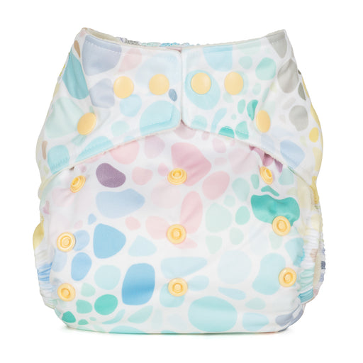 Baba and Boo One Size Pocket Cloth Nappy - Pebbles | nappycakes-mt | Single Item.