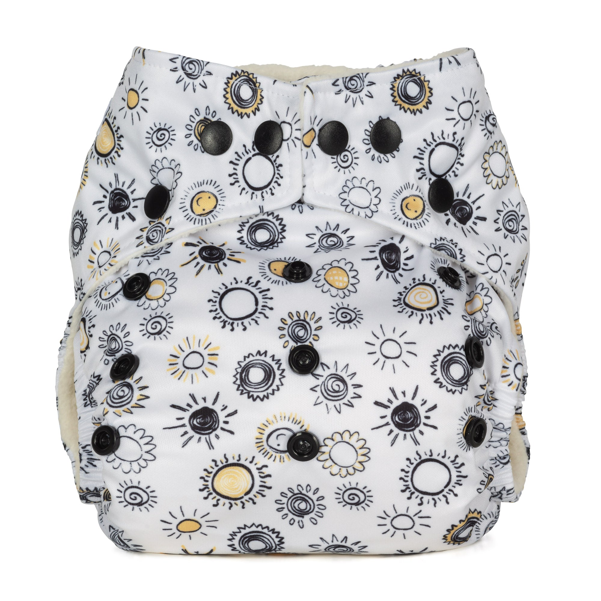 Baba and Boo One Size Pocket Cloth Nappy - Sunshine