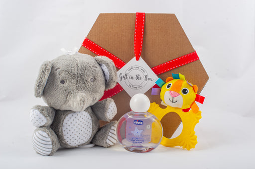 Neutral Baby Gift Box.