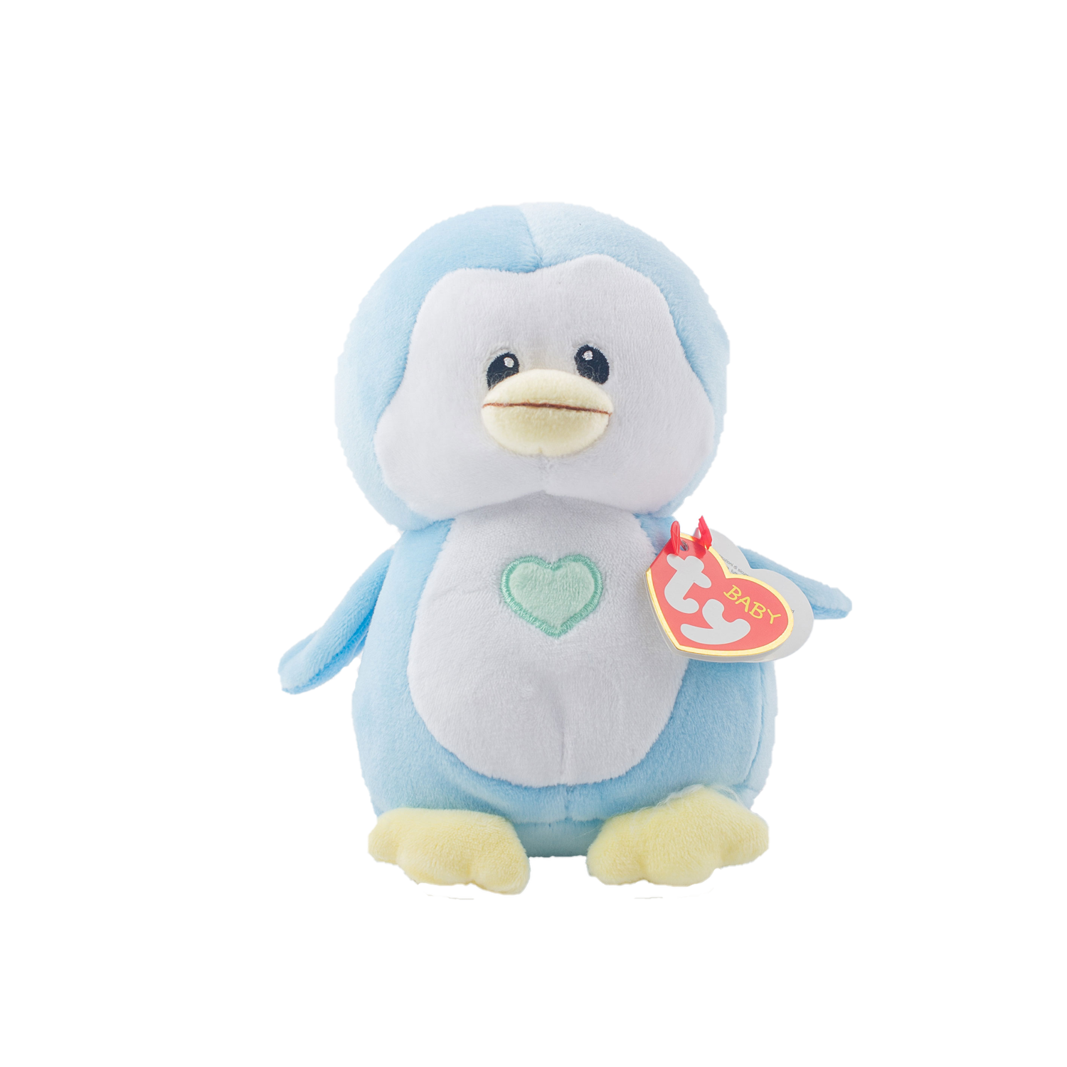 TY Baby - Twinkles Blue Penguin | nappycakes-mt | Single Item.
