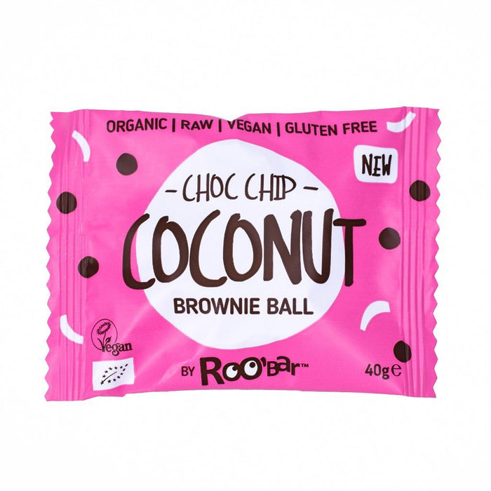 Brownie Ball Chocolate Chip Coconut.