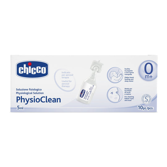Chicco Saline Water (x10 tubes, 0 months+)