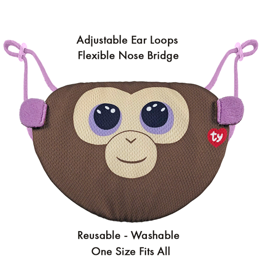 Coconut Brown Monkey Mask | nappycakes-mt | Single Item.