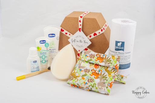 Eco Baby Bath Box | nappycakes-mt | Gift Box.