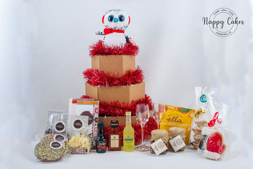 The Christmas Liquor and Chocolate Tower Box