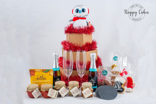 The Ultimate Christmas Prosecco Tower Box