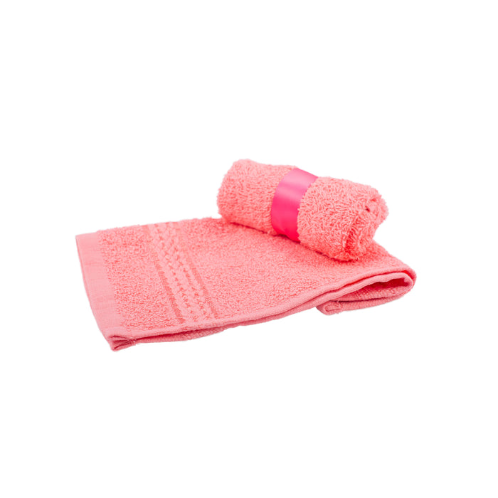 Facecloths x 6 - Pink