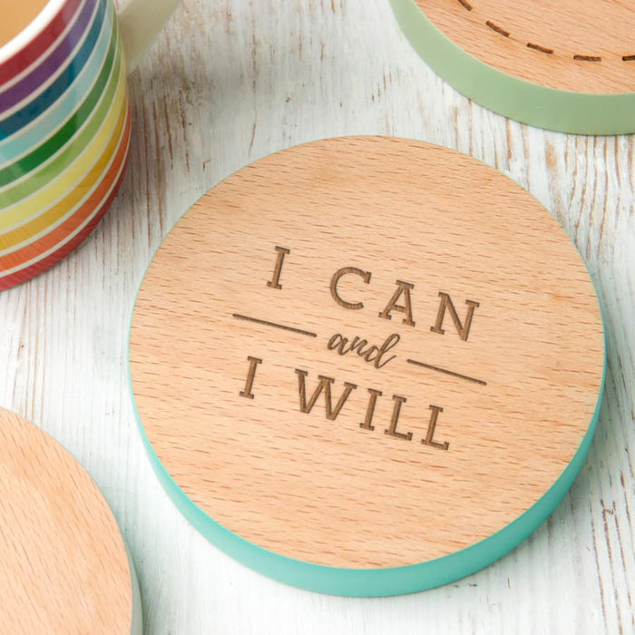 I can and I will' Coaster