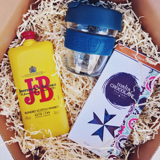KeepCup, Whiskey & Chocolate Box | nappycakes-mt | Gift Box.