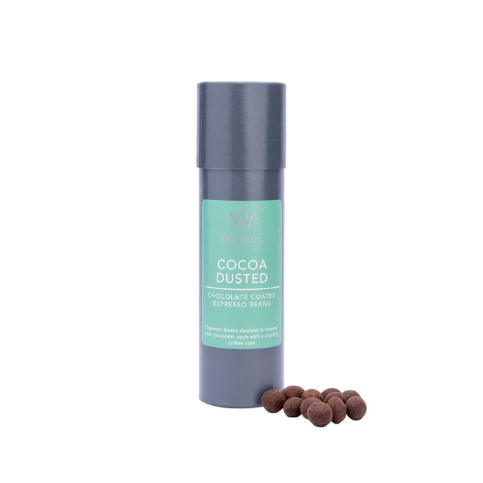 Whittard Cocoa Dusted Milk Chocolate Espresso Beans.