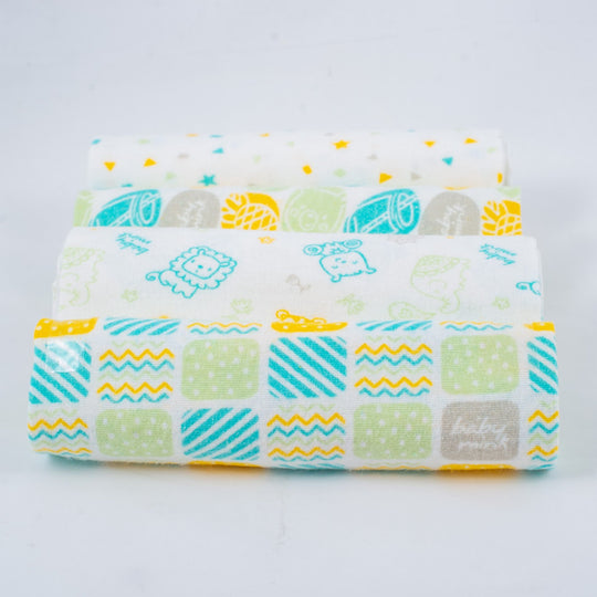 Baby Mink Receiving Blankets Set (x4) | nappycakes-mt | Single Item.