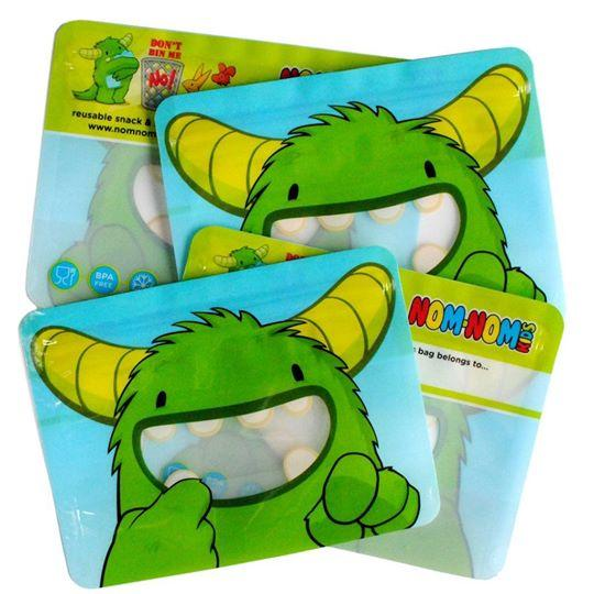 Nom Nom Kids Sandwich Bag | nappycakes-mt | Single Item.
