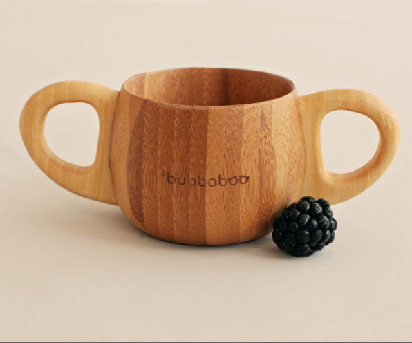 Bubbaboo Organic Bamboo Baby Cup | nappycakes-mt | Single Item.