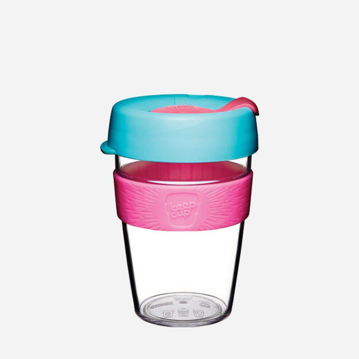 KeepCup Original Clear - Radiant - 340ml | nappycakes-mt | Single Item.