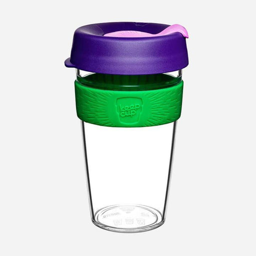 KeepCup Original Clear - Spring - 454ml | nappycakes-mt | Single Item.