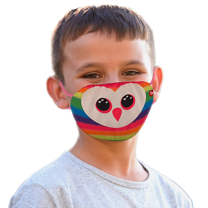 Owen Multicolour Owl Mask.