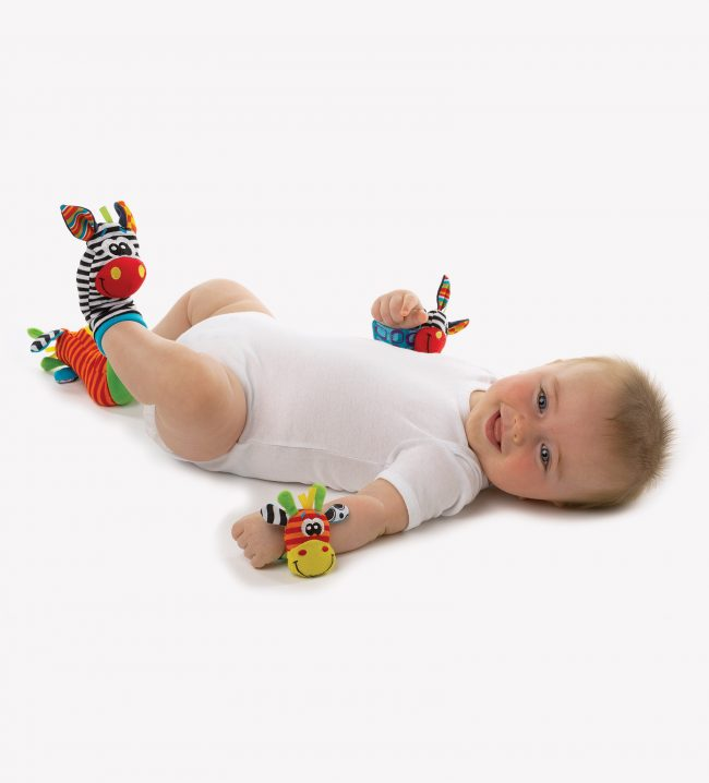 Playgro Jungle Wrist Rattle and Foot Finder | nappycakes-mt | Single Item.