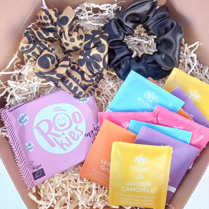 Scrunchies for Tea Lovers Box for Her.