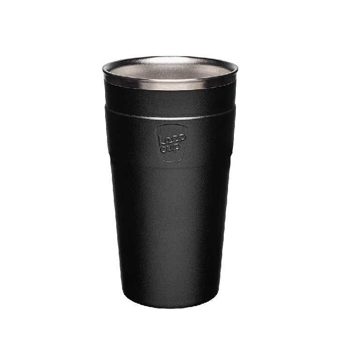 KeepCup Thermal - Black - 454ml | nappycakes-mt | Single Item.
