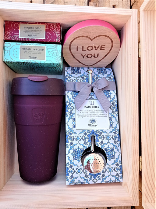 Tea Lovers Keepsake Box.