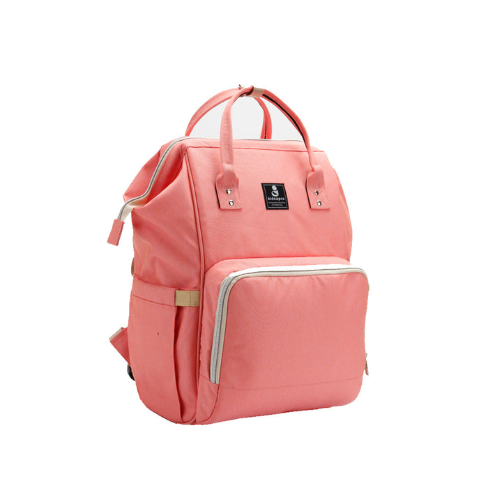 Kidsapro One Colour Mama Bags - Pink
