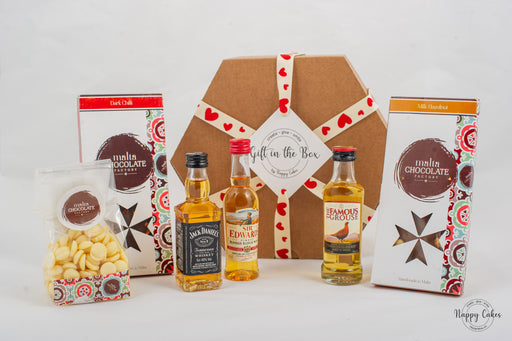 The Whiskey & Chocolate Box | nappycakes-mt | Gift Box.