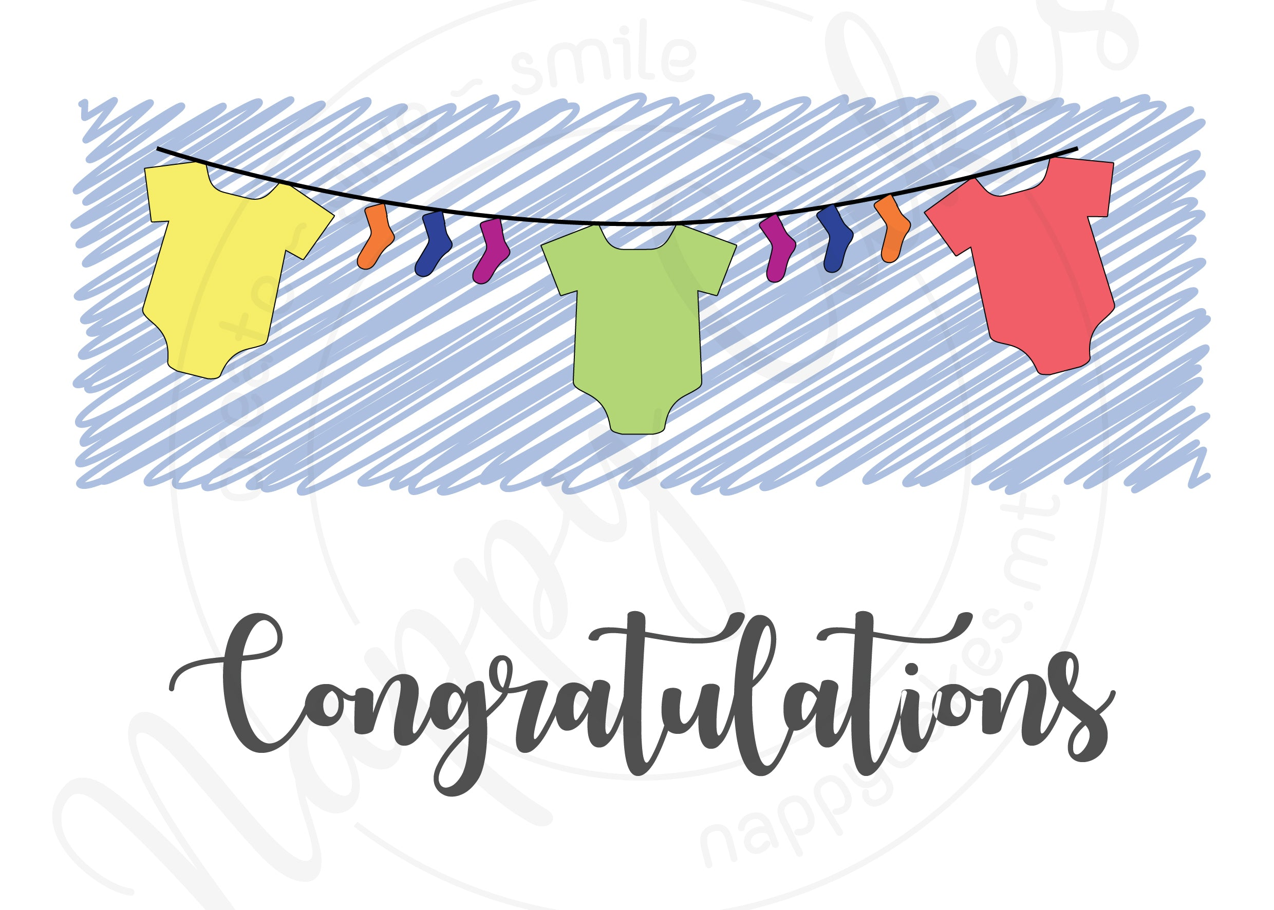 Congratulations Greeting Card | nappycakes-mt | Greeting Card.
