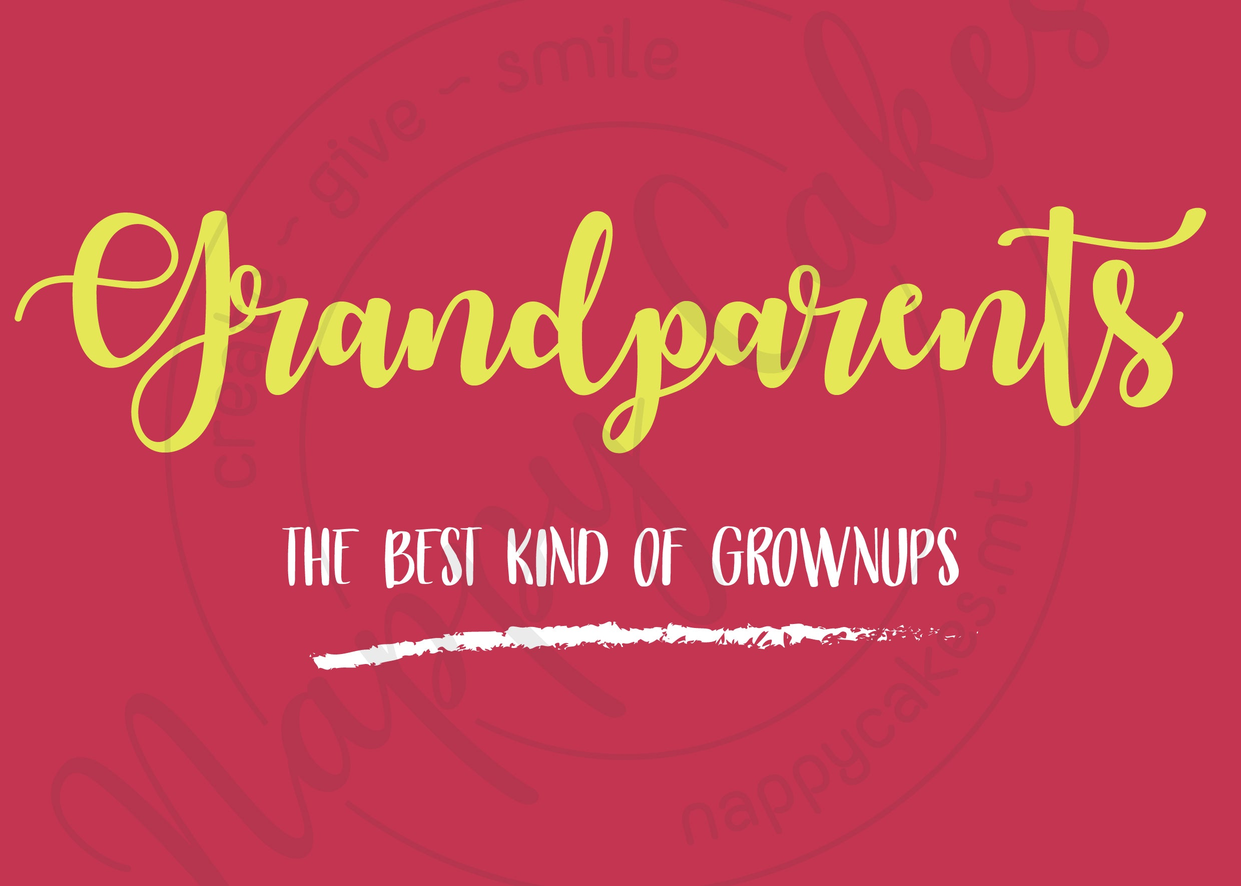 Grandparents Greeting Card | nappycakes-mt | Greeting Card.