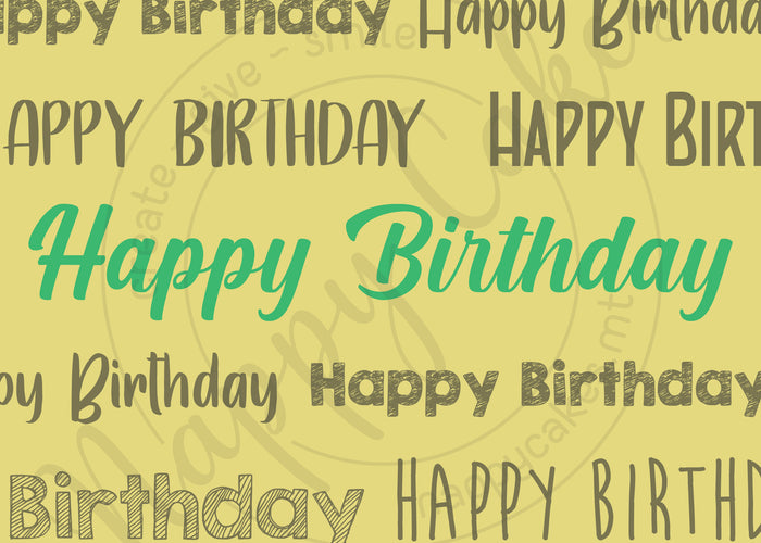 Happy Birthday Greeting Card | nappycakes-mt | Greeting Card.