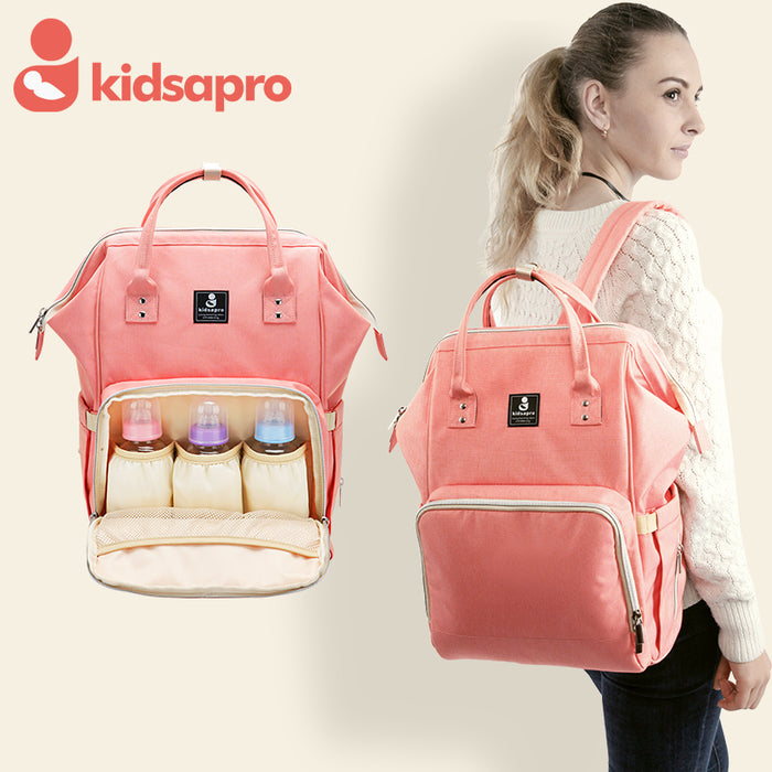 Kidsapro One Colour Mama Bags | nappycakes-mt | Mom Bag.