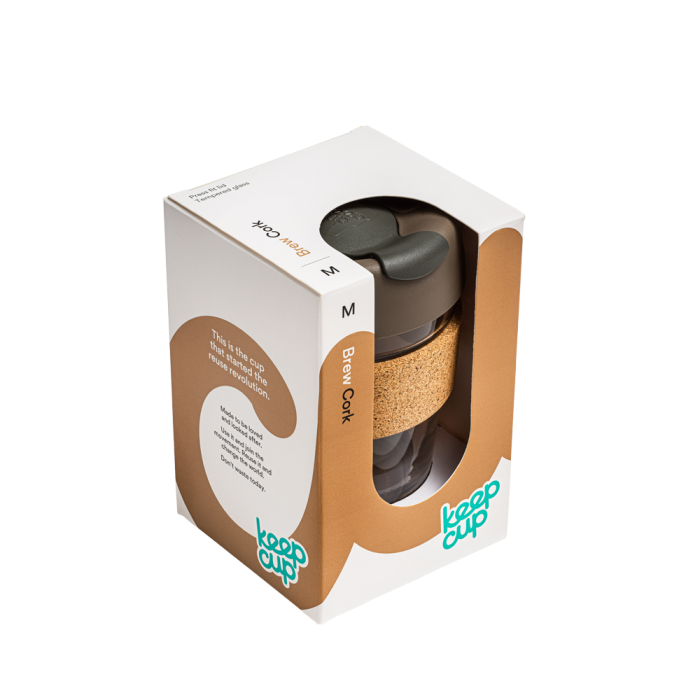 KeepCup Brew Cork - Press - 340ml | nappycakes-mt | Single Item.