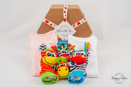Baby Wear & Play Box - Pink.