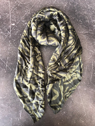 Rabens Saloner- Safari Scarf Army