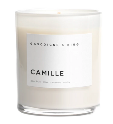 Gascoigne & King Candles- Camille