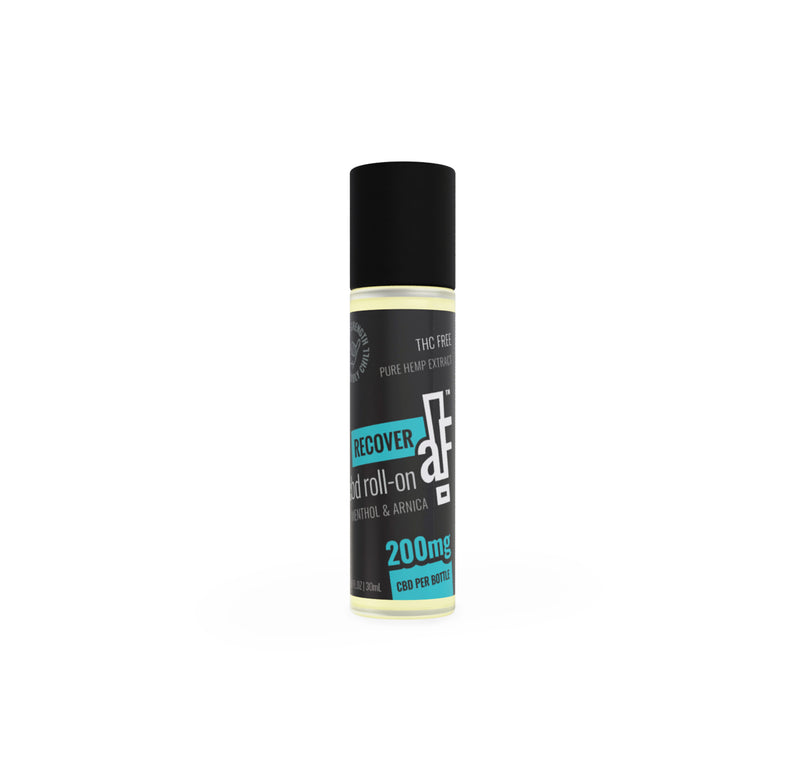 RECOVERaF CBD Tropical Roll-On 200mg + Menthol