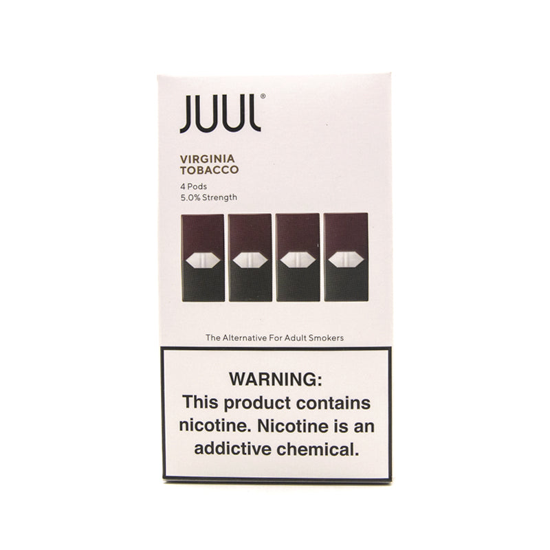 Juul Pods 4pk For Use With Juul Devices - 3% or 5% Nicotine