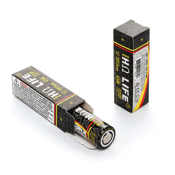 Hohm Tech Hohm Life 18650 3015 mAh Battery for Vaping