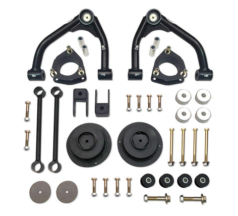 4 Inch Lift Kit 14-18 Chevy Suburban/Tahoe/GMC Yukon/Yukon XL 1500 Fits Models w/One Piece Cast Steel Upper Control Arms Tuff Country