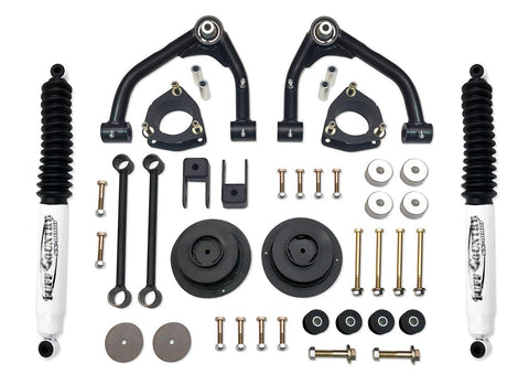 4 Inch Uni Ball Lift Kit 14-18 Chevy Suburban/Tahoe/GMC Yukon XL/GMC Yukon 1500 w/ SX8000 Shocks Fits Models w/aluminum factory Upper Control Arms or Two Piece Stamped Steel  Tuff Country
