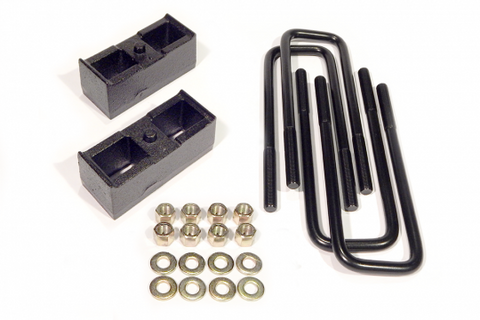 2.0 Inch Rear Block Kit For 11-20 Silverado/Sierra 2500/3500 8 Lug Without Trailer Package Southern Truck Lifts