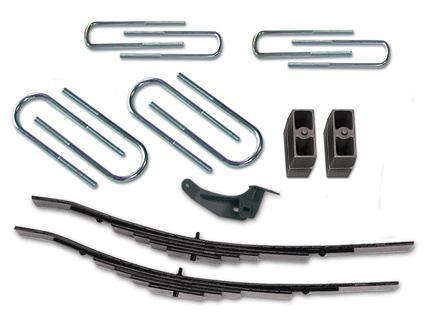 2.5 Inch Leveling Kit Front 00-04 Ford F250/F350 Super Duty 4WD w/Leaf Springs Fits Models w/Diesel  V10 or 460 Gas Engine Tuff Country - getliftkits.com - Tuff Country - 22964K-BKFW, Leveling Kit, Tuff Country - Leveling Kit