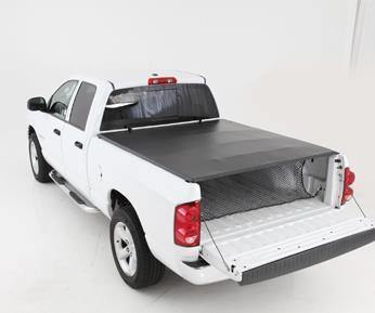 Image of Smart Cover Truck Bed Cover 09-12 Dodge Ram 1500 76.3 Inch Vinyl Black Smittybilt - Get Lift Kits - getliftkits.com - Smittybilt - 2620031-SMB, Smittybilt, Tonneau Covers - Tonneau Covers