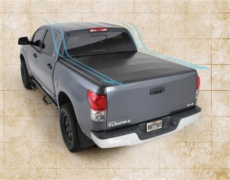 Smart Cover Truck Bed Cover 07-16 Toyota Tundra 78.7 Inch Vinyl Black Smittybilt - Get Lift Kits