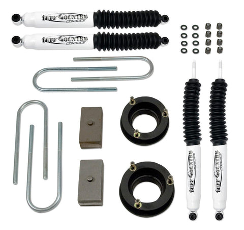 2 Inch Lift Kit 03-13 Dodge Ram 2500 03-12 Dodge Ram 3500 w/Rear Lift Blocks and SX8000 Shocks Fits Models with 4 Inch Rear Axle Tube Tuff Country
