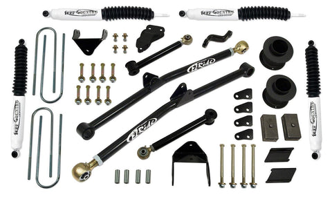 4.5 Inch Long Arm Lift Kit 09-13 Dodge Ram 2500 09-12 Dodge Ram 3500 w/ SX8000 Shocks Tuff Country
