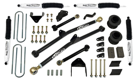 4.5 Inch Long Arm Lift Kit 07-08 Dodge Ram 2500/3500 w/ SX8000 Shocks Fits Vehicles Built July 1 2007 and Later Tuff Country