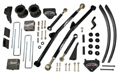 4.5 Inch Long Arm Lift Kit 99 Dodge Ram 2500/3500 Fit Vehicles Built April 1 1999 to Dec 1 1999 Tuff Country