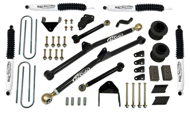 6 Inch Long Arm Lift Kit 03-07 Dodge Ram 2500/3500 w/ SX8000 Shocks Fits Vehicles Built June 31 2007 and Earlier Tuff Country - getliftkits.com - Tuff Country - 36213KN-BKFW, Long Arm Lift Kits, Tuff Country - Long Arm Lift Kits